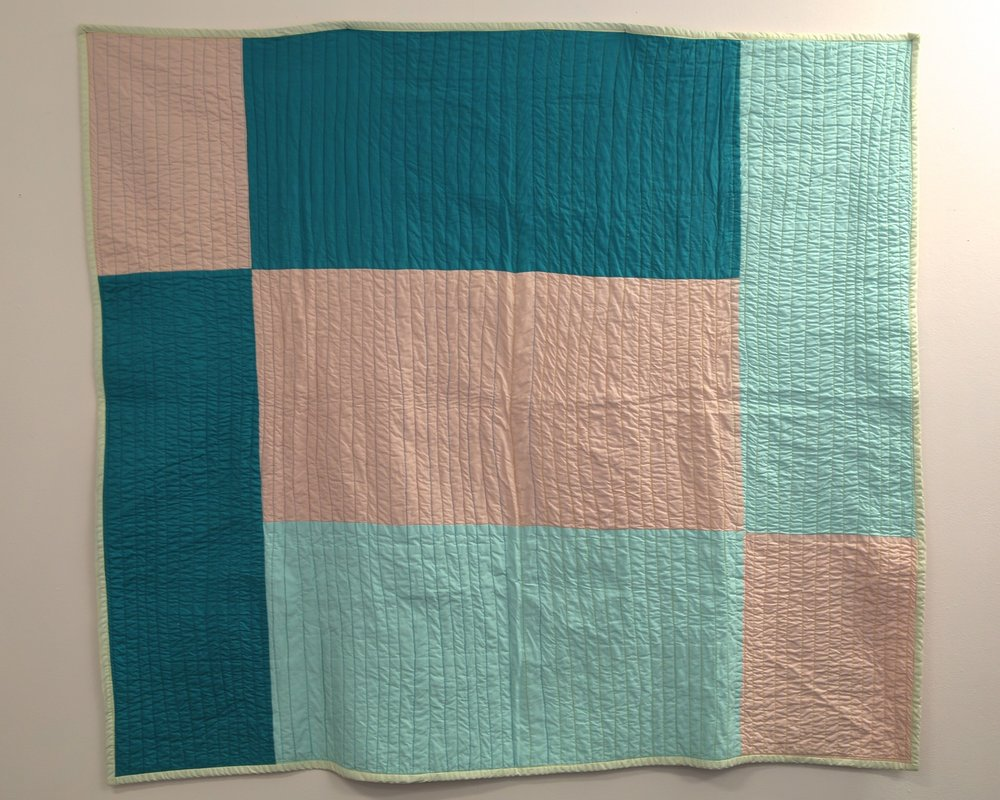 Paul's Quilt, 2014, cotton, 150cm x 146cm