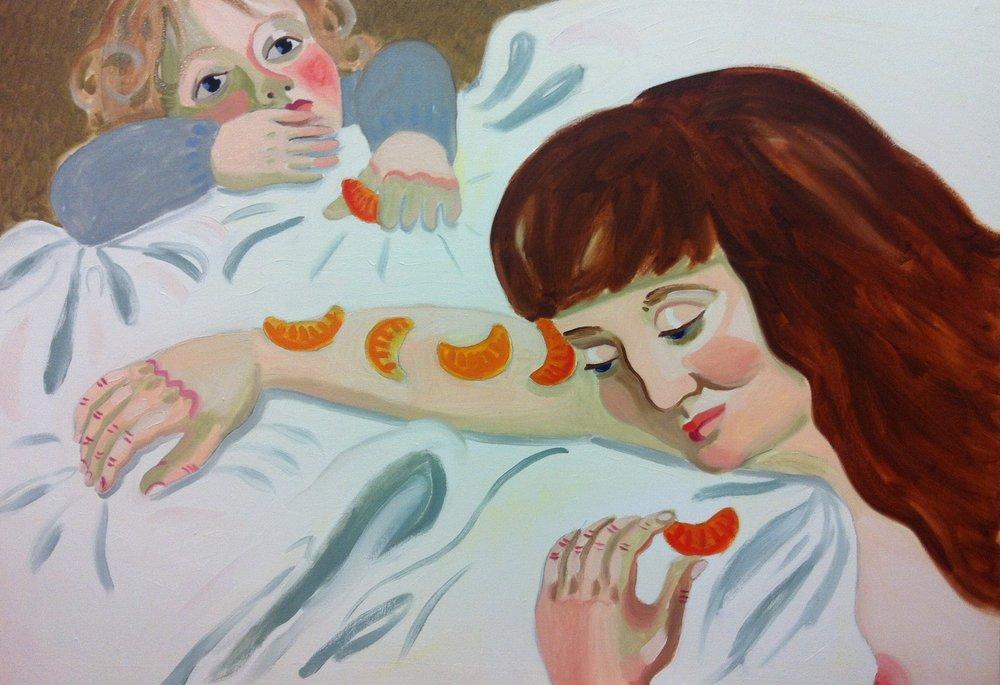 The mandarin spell, 2013, oil on canvas