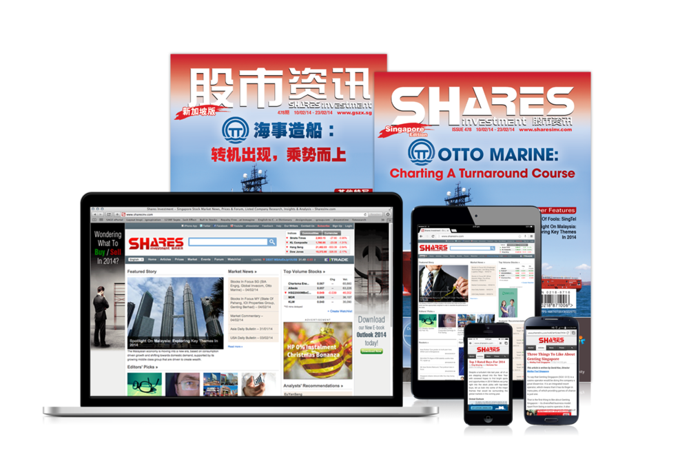 The Shares Investment product line. With mobile apps, desktop and mobile sites, print magazines as well as events -- reaching out to more than 220,000 affluent investors every month.