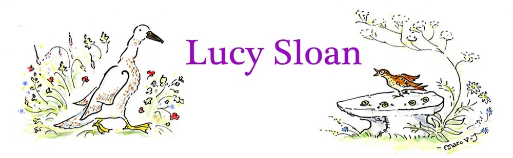 Lucy Sloan website banner