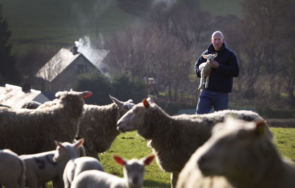 IFA's James Murphy on his farm in south Kilkenny