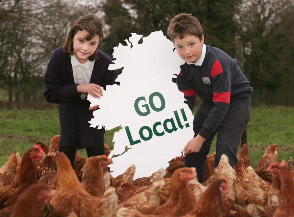 Launch of 'Go Local' for produce campaign