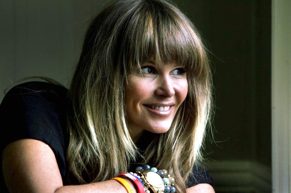 Former supermodel Elle Macpherson