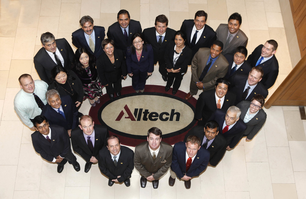 Alltech group at conference