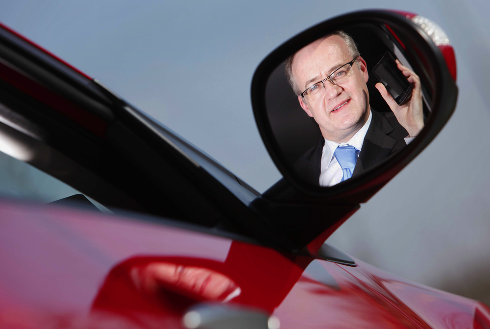 Ger Dooley from Honda Ireland for Vodafone