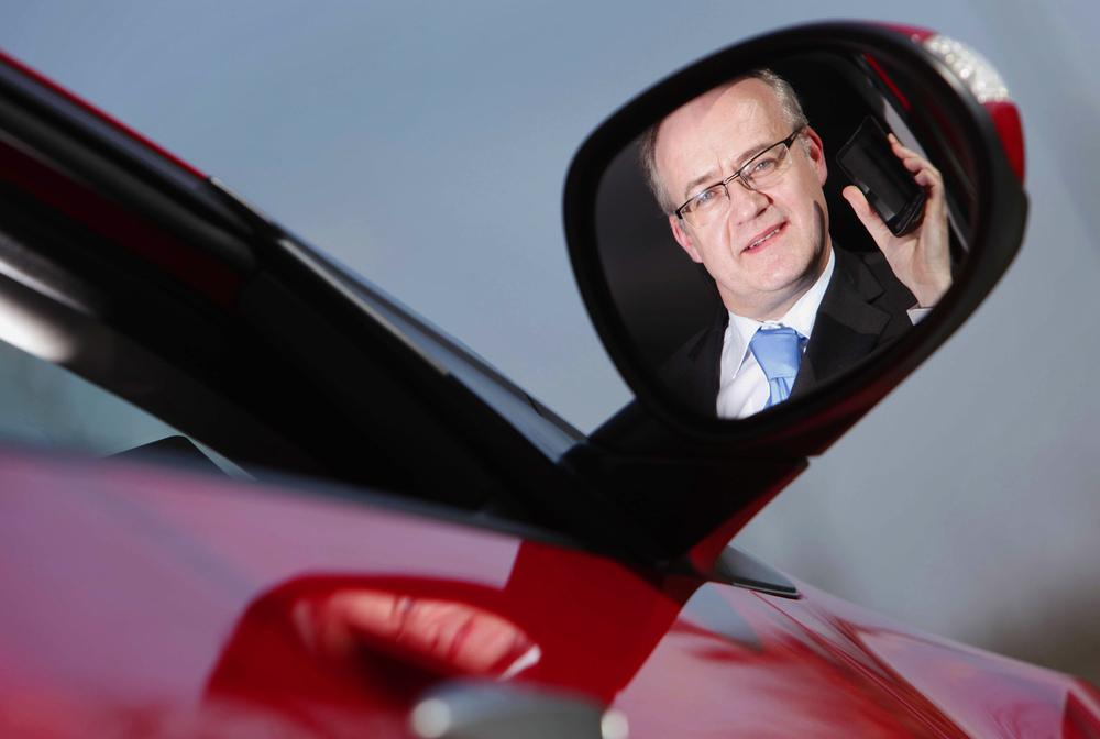 Ger Dooley from Honda Ireland for Vodafone