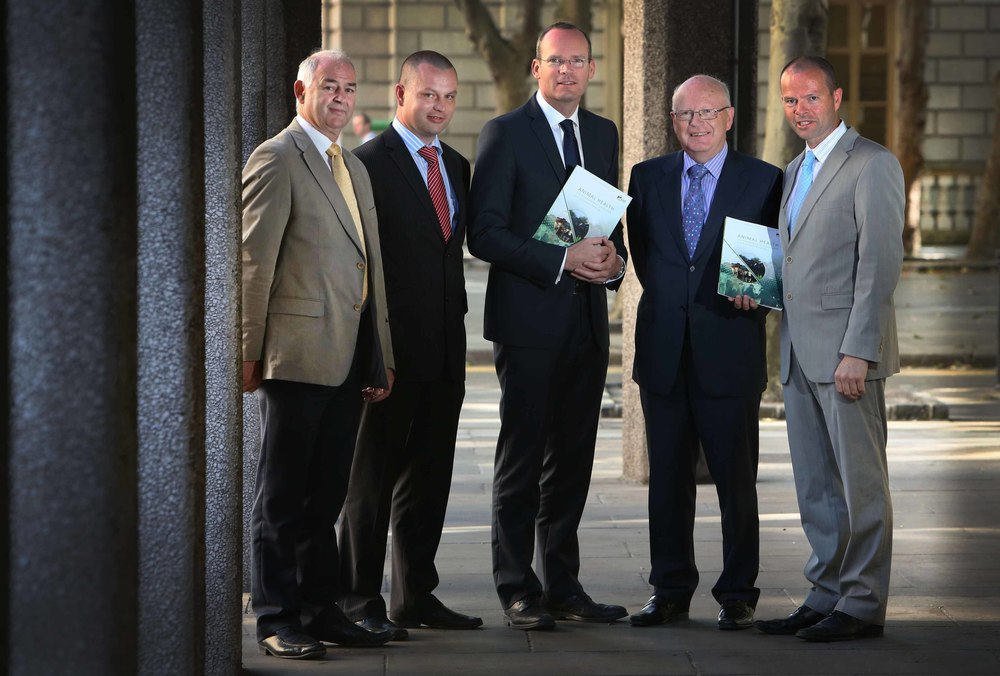 launch of the Animal Health Ireland (AHI) animal health conference with Minister for Agriculture Simon Coveney