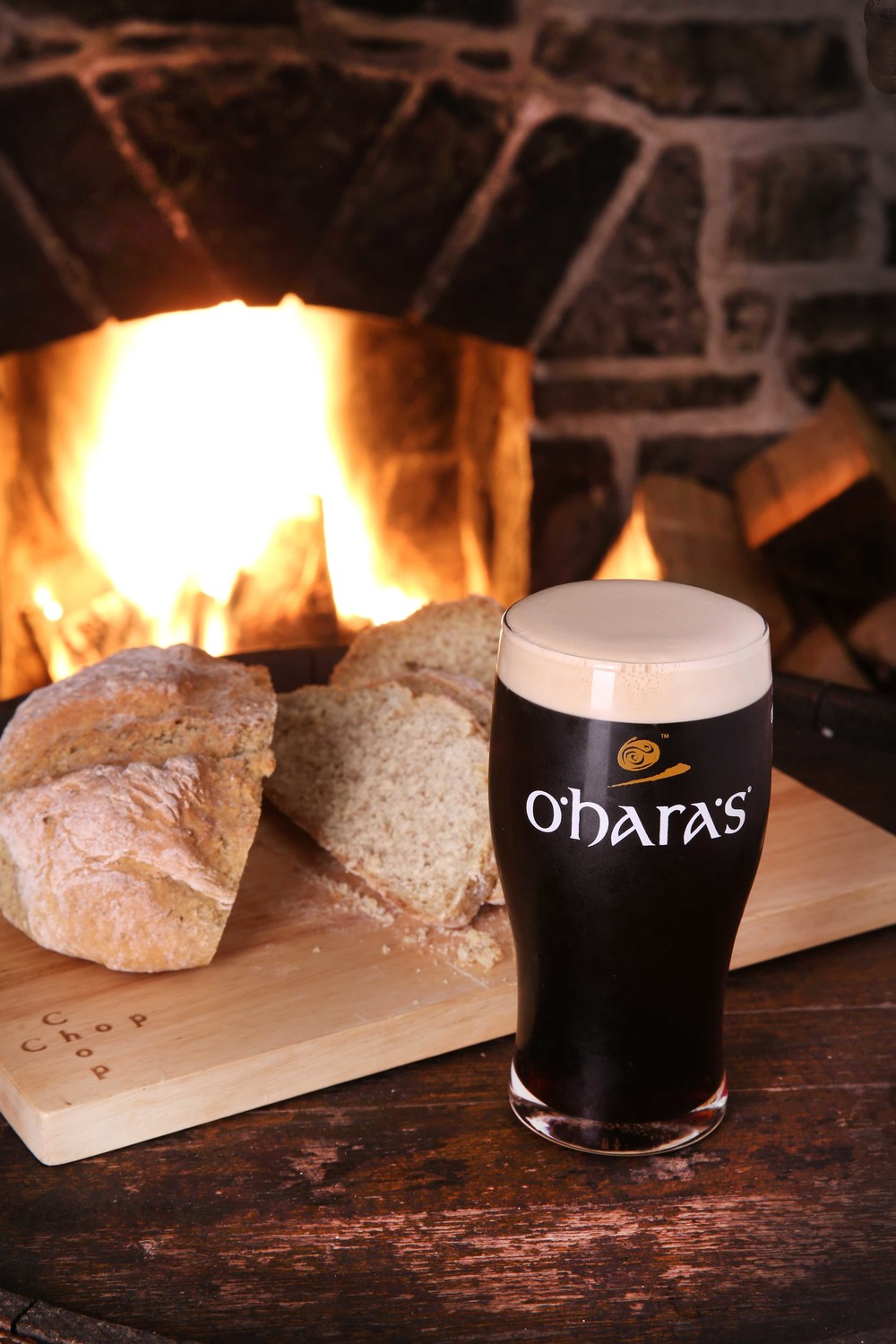 O'Hara's stout winter beer campaign