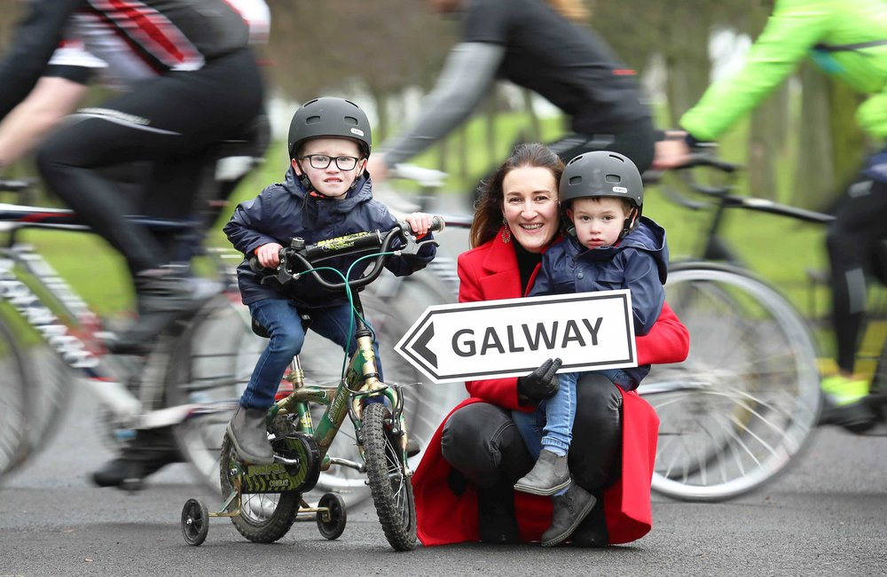 Friends of the Coombe Charity Cycle to Galway launch