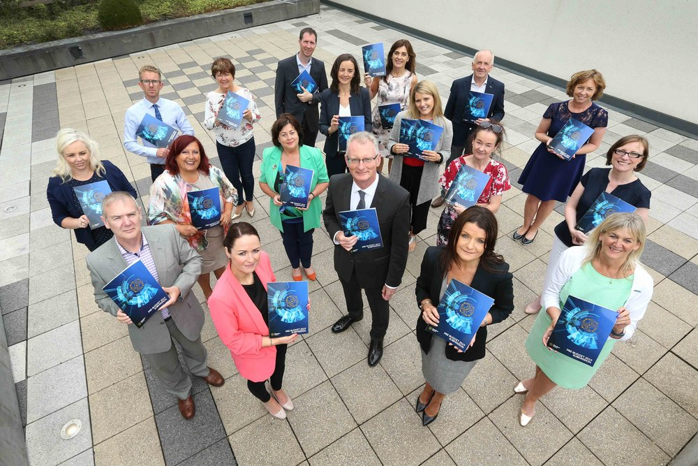 Members of the Chamber Network from all over Ireland, launch their Pre-Budget Submission 2019.