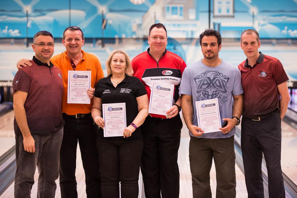 Certified Level III Coaches for ETBF Level I Coaching Clinic