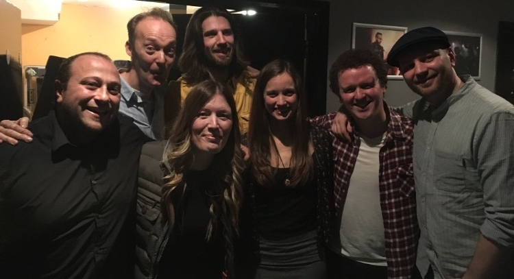 Niall and his band supported Paul Heaton and Jacqui Abbott (Beautiful South) at O2 Birmingham. Picture with Jacqui.