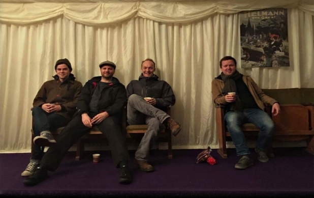 NIALL AND HIS BAND ON THE LAST NIGHT OF THE PAUL HEATON AND JACQUI ABOTT IRISH TOUR - OCTOBER 2017.  MANY THANKS TO PAUL, JACQUI AND THEIR TEAM FOR HAVING US ON THEIR TOUR. WILL NEVER FORGET IT.