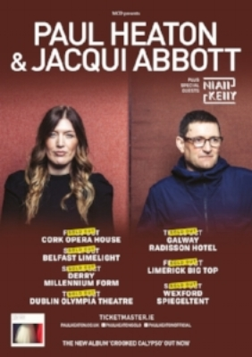 NIALL AND HIS BAND OPENED FOR PAUL HEATON AND JACQUI ABBOTT ON THEIR SOLD OUT IRISH TOUR OCTOBER 2017.