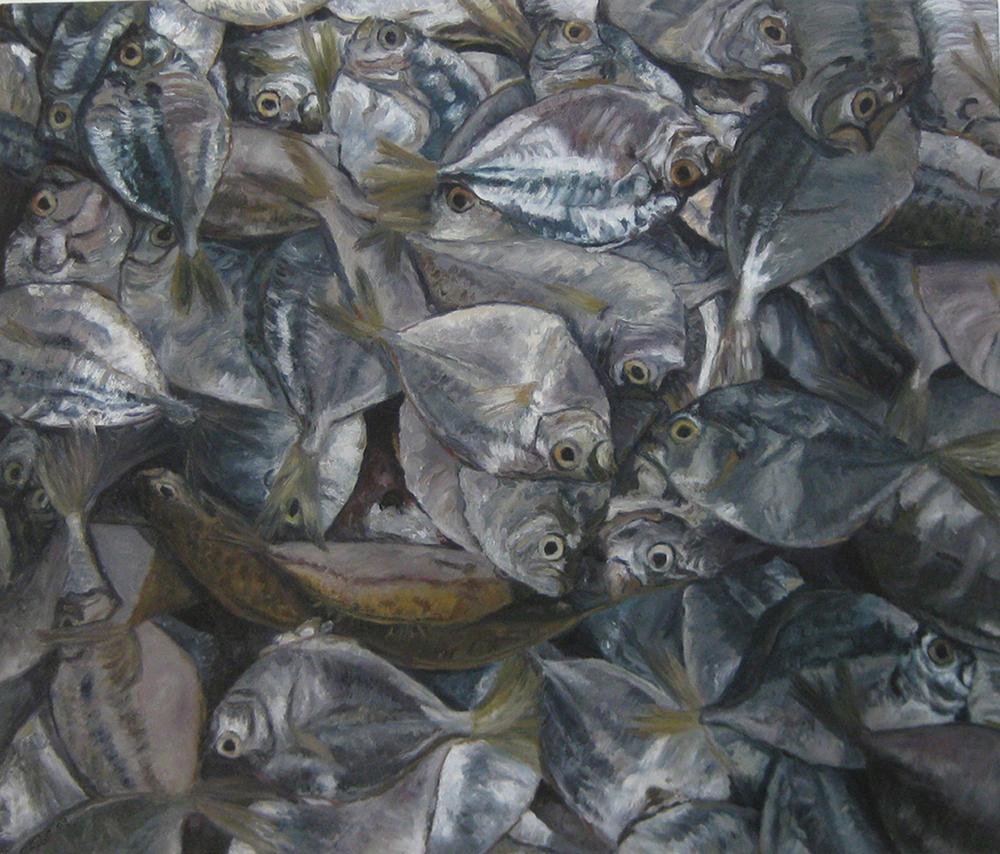 Silverfish 82.5x102cms 2009.jpg