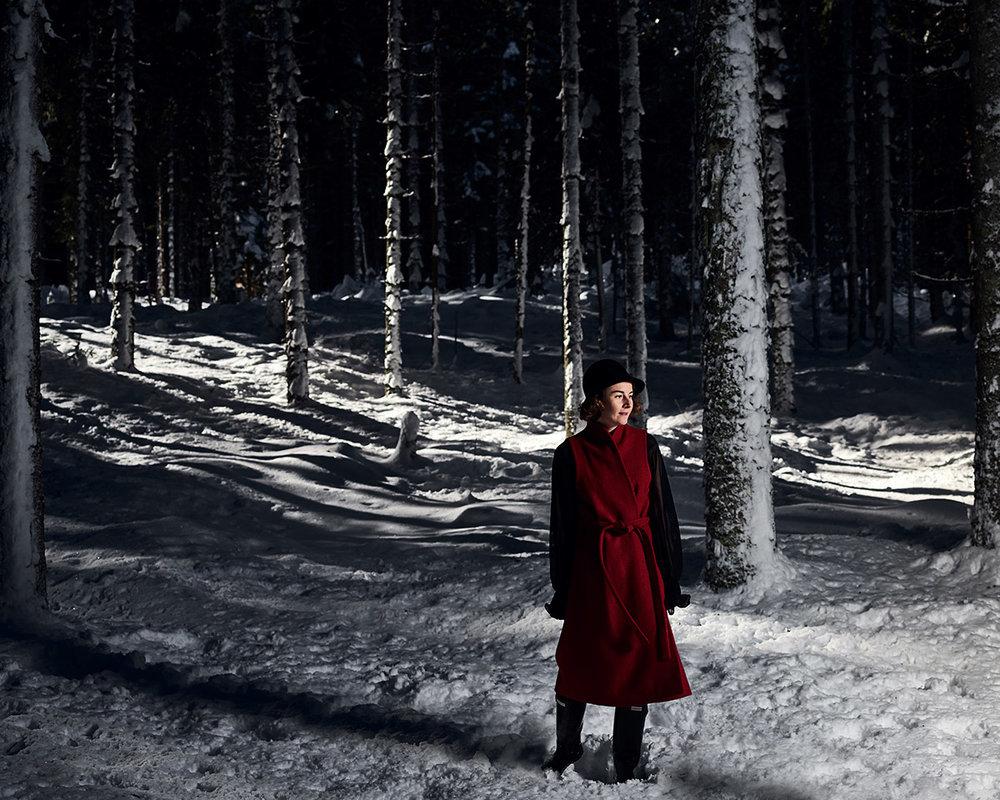 Fashion Shooting - in der Stille des Nationalpark Gesäuse