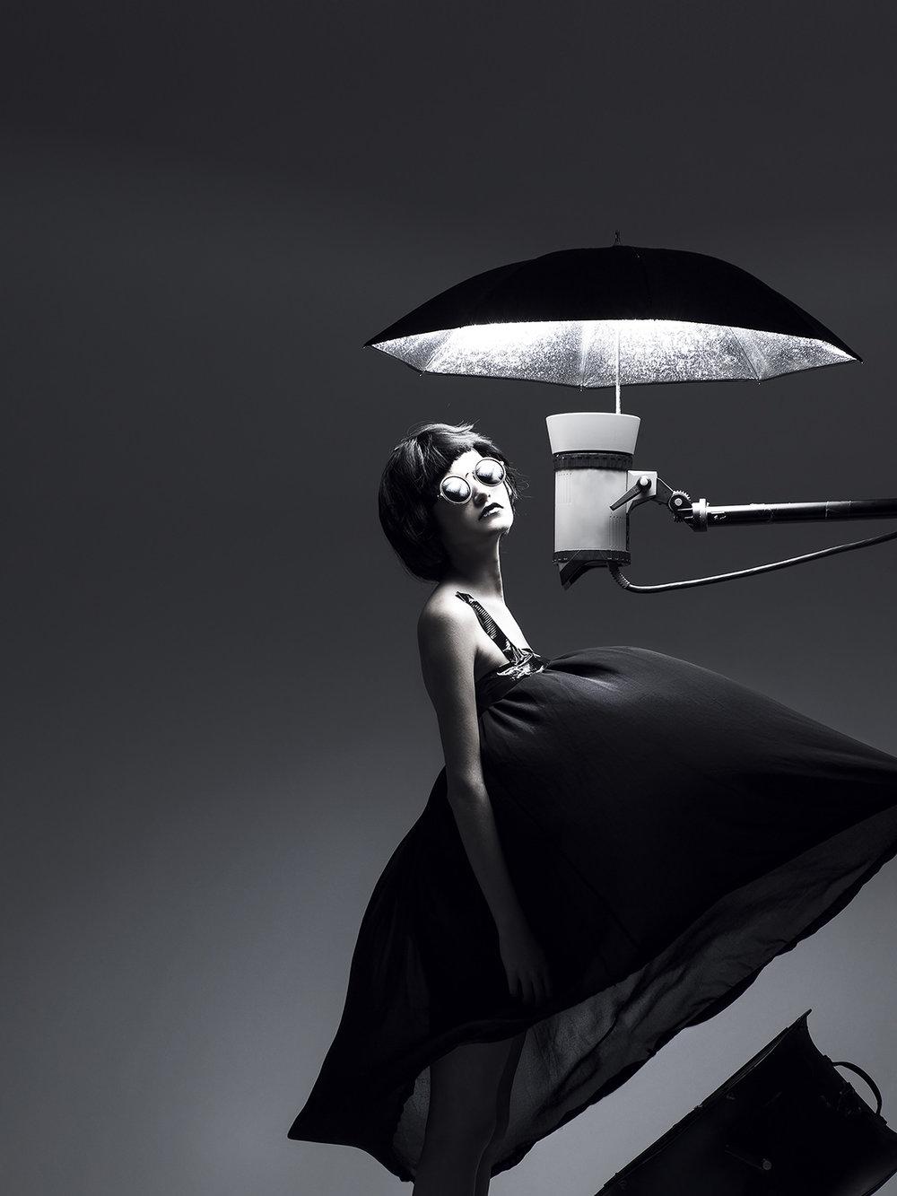 Juliette Jourdain X Guerlain pour La Petite Robe Noire