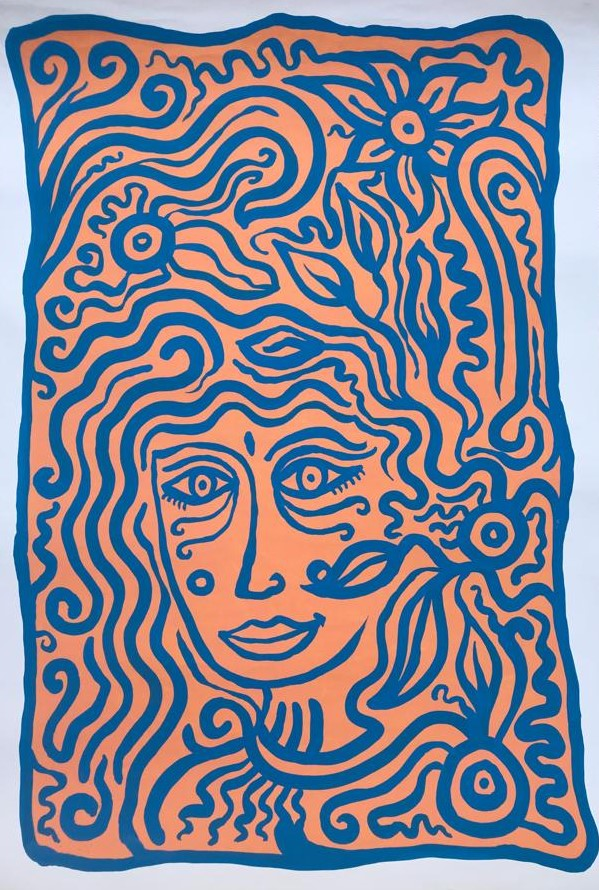 Acrylic on paper - 75 x 110 cm - 2018