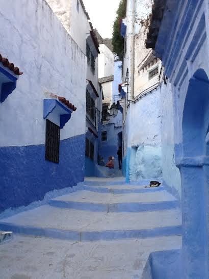chefchaouen - blue city