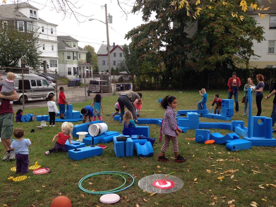 WSPS at Ellery Street Park!