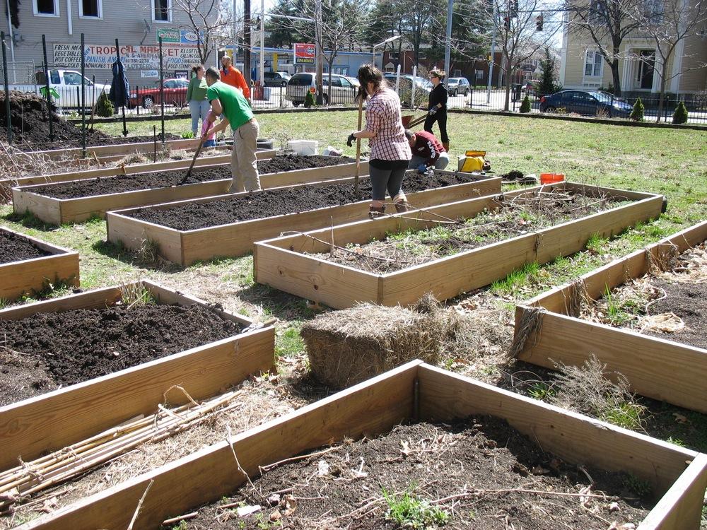 Bridgham Community Garden
