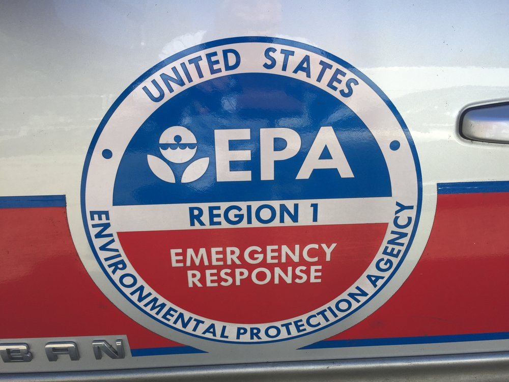 EPA on site in October 2016 at the start of its Emergency Response and Removal Program