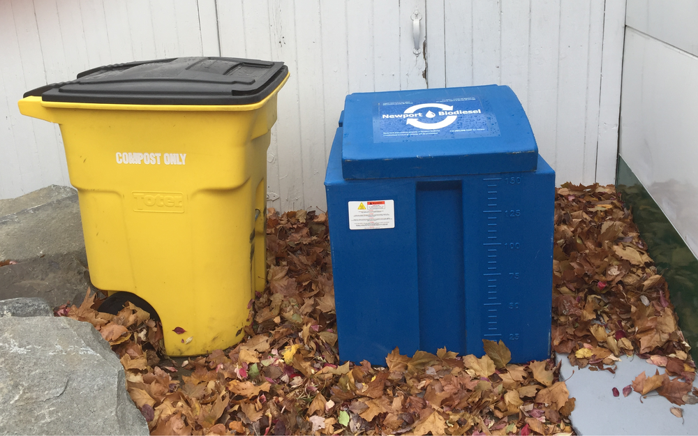 Drop off any time in our blue drop off barrel located to the left of the WBNA building.