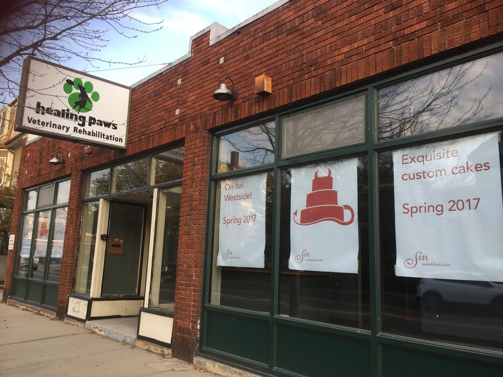 1413 Westminster – Sin Bakery's new home!