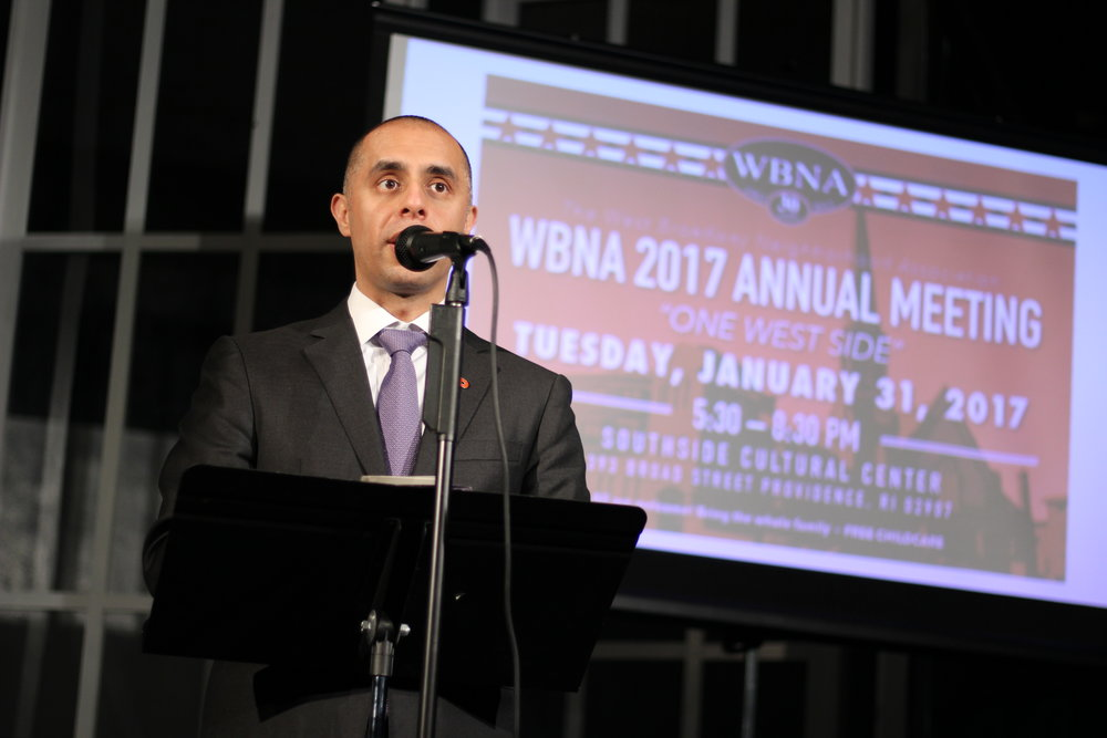 Mayor Elorza talks about the state of the City and of his  One Providence  initiative