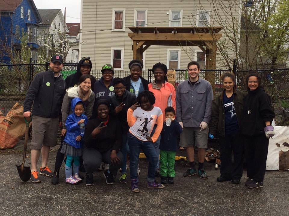 Thank you to the Parade Street Community Garden cleanup team and WBNA board member Emily Koo that joined our efforts in cleaning up Parade Street between Cranston and Hollis!