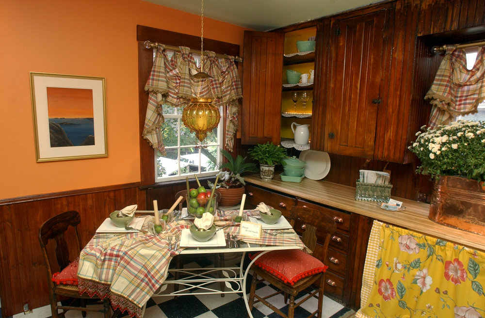 Second floor kitchen by Redecorate RI