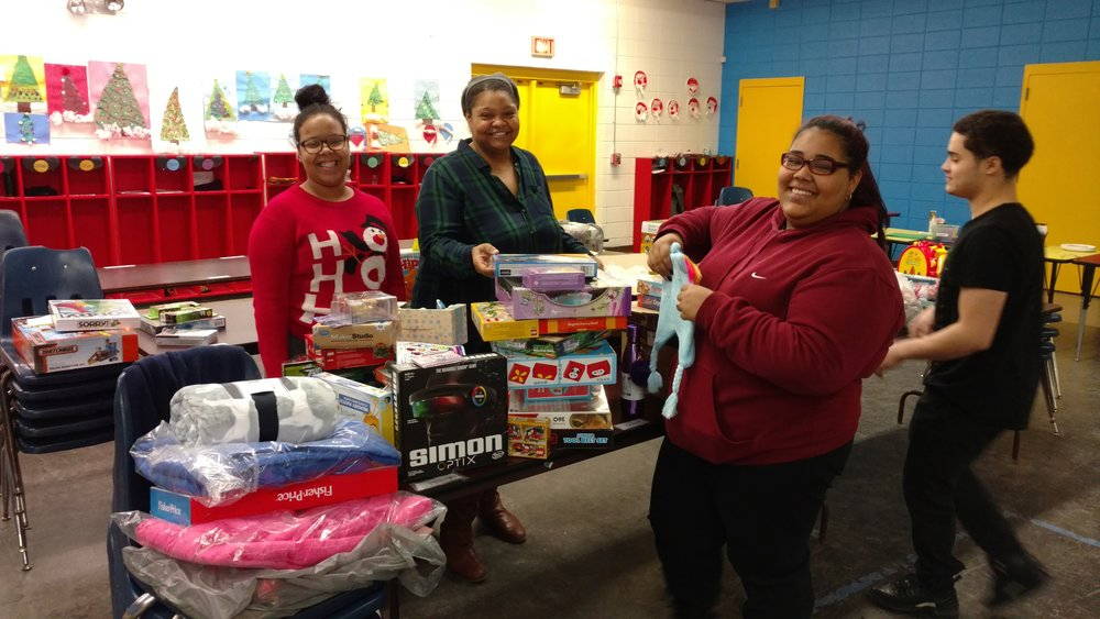 WECC thanks neighbors who participated in WBNA's collection of toys for its annual toy drive!