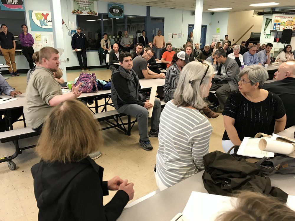 Neighbors expressed concerns about the lack of community engagement, a process that had been stipulated in the state's RFP last year