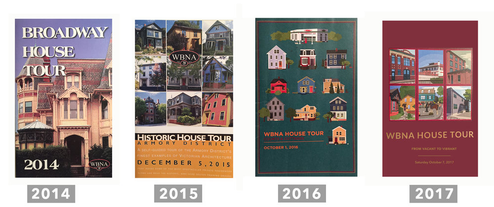 For the past four years, people from near and far have stepped over the threshold of historic homes and seen what it's like to live in an old New England city. On the tours, visitors see how owners decide to refurbish  structures on the West Side of the city, and how elements of modern design are integrated with historic details.