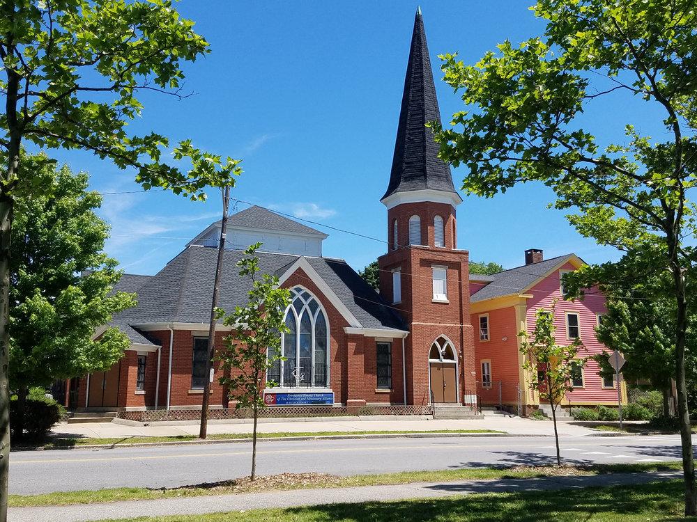 Hmong Church, 46 Dexter Street, Providence