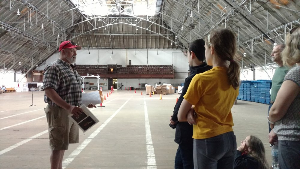 Taylor Polites leading a group through the Armory during our  Armory OPEN Tours  in 2017