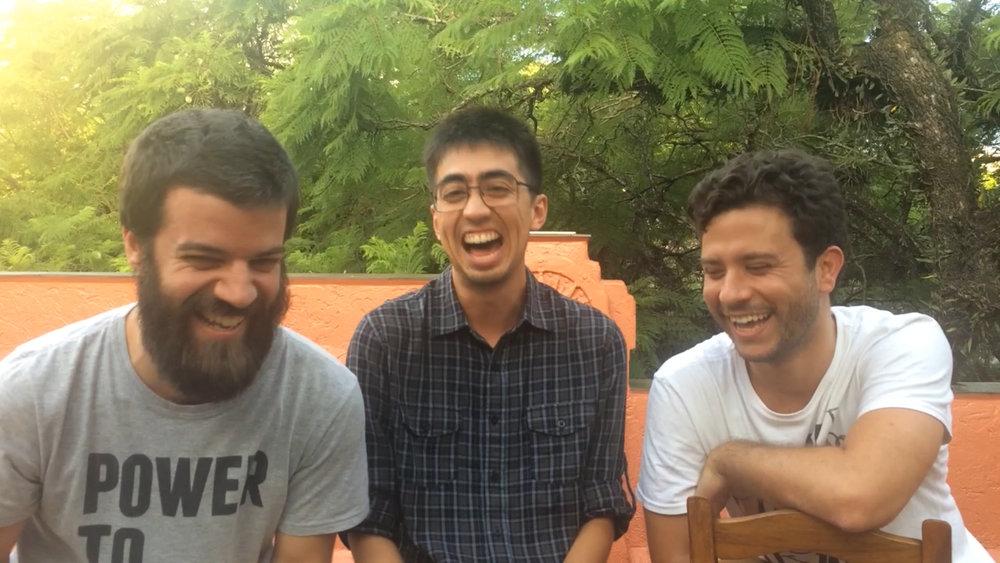 Braga, Larusso e Gab Gomes.