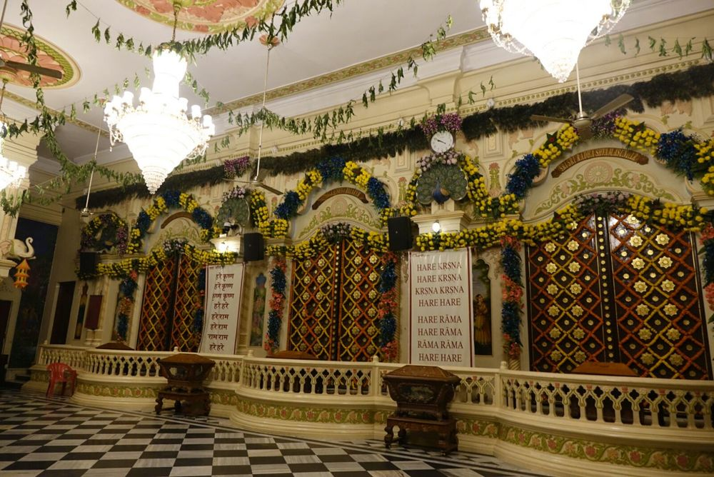 After the end of Kartik month, the temples in Vrindavan are quiet again