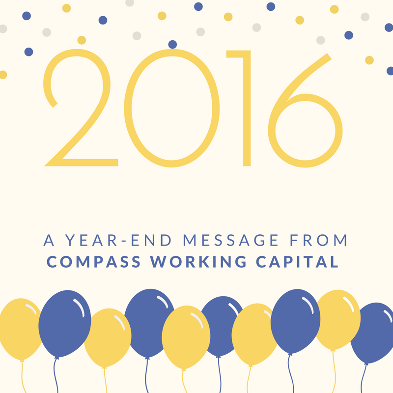 A Year-End Message from Compass