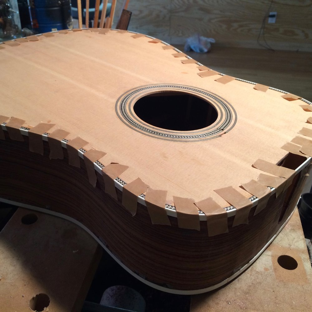 D-28 Dreadnought Acoustic Guitar Kit
