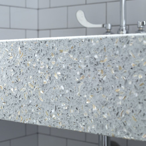 Recycle Glass Countertops | IceStone Glass Countertops