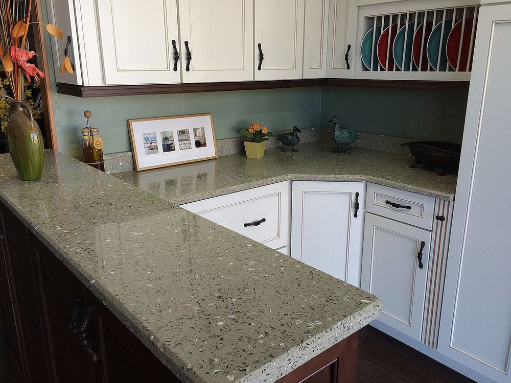 Bon Curava Recycled Glass Countertops | Stone Surfaces Woburn MA