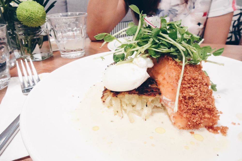 Ocean Trout on Hash – SGD$21.90