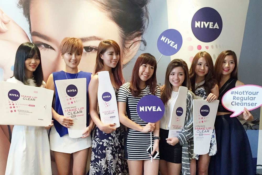 NIVEA Make Up Clear Launch:  With the gorgeous Nuffnang ladies