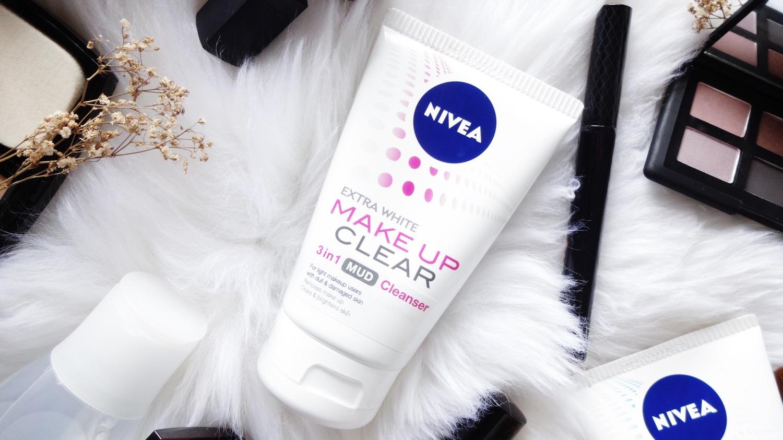 Nivea Make Up Clear Range Brenda Ng 2 In 1 White Foam 100ml 3 Mud Cleanser