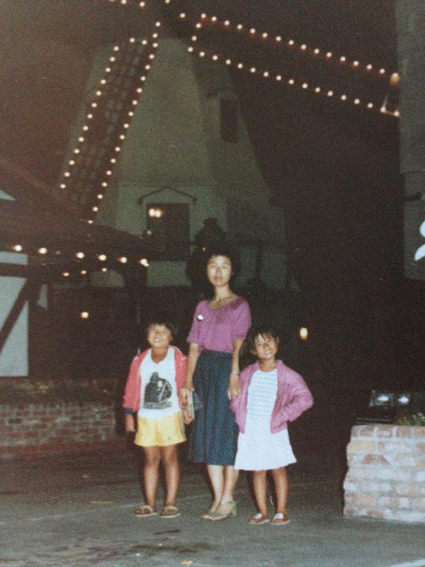 Solvang, California 1980s