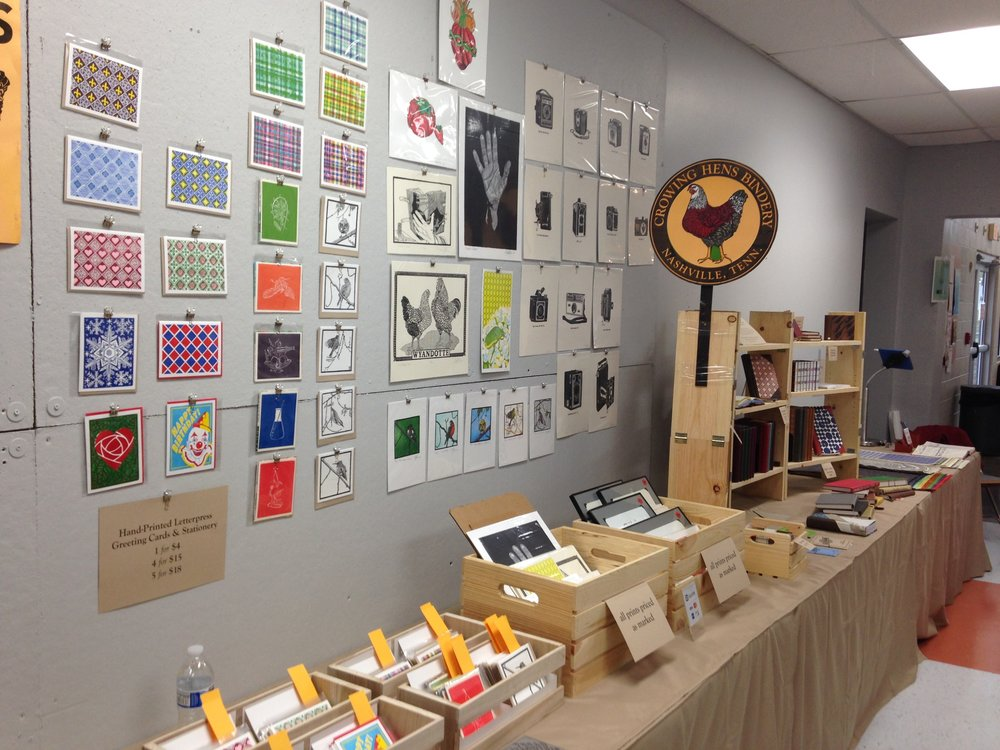 Last year's Handmade and Bound was a blast. So many talented artists at the Marketplace!