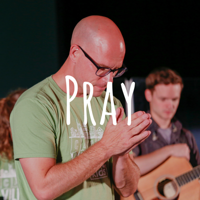 Pray. - Begin by checking in with one another, transparently sharing your highs and lows for the week, and praying together.