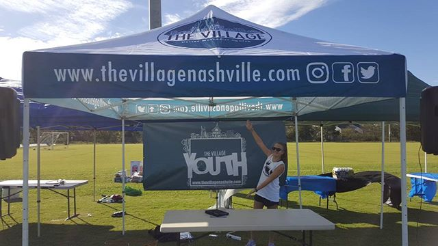 Great day for a tailgate party and big win for Nolensville HS!!! #nashvillageyouth #goknights