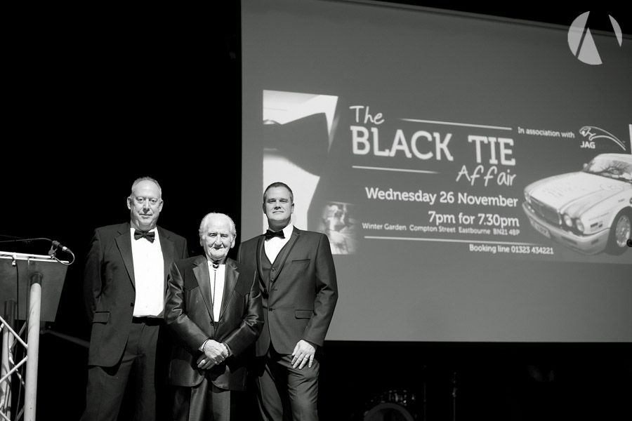 Norman Dewis - jagtechnic  Black Tie Affair 2014